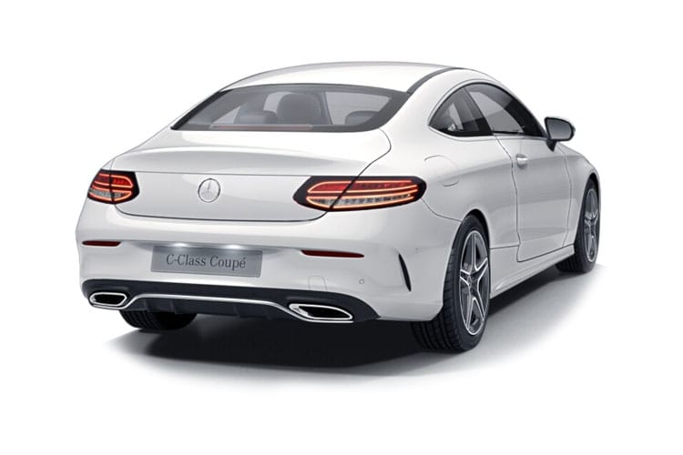 Mercedes-Benz C Class C300 Coupe 2.0  258PS AMG Line 2Dr G-Tronic+ [Start Stop] back view