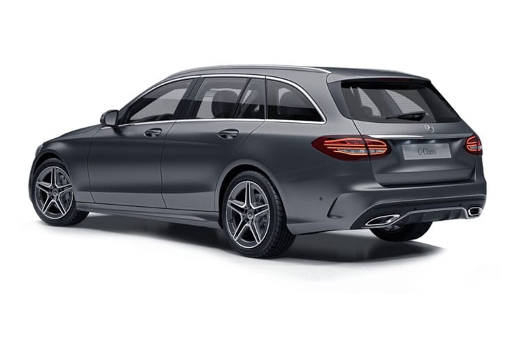 Mercedes-Benz C Class AMG C63 Estate 4.0 V8 BiTurbo 510PS S Premium Plus 5Dr SpdS MCT [Start Stop] back view