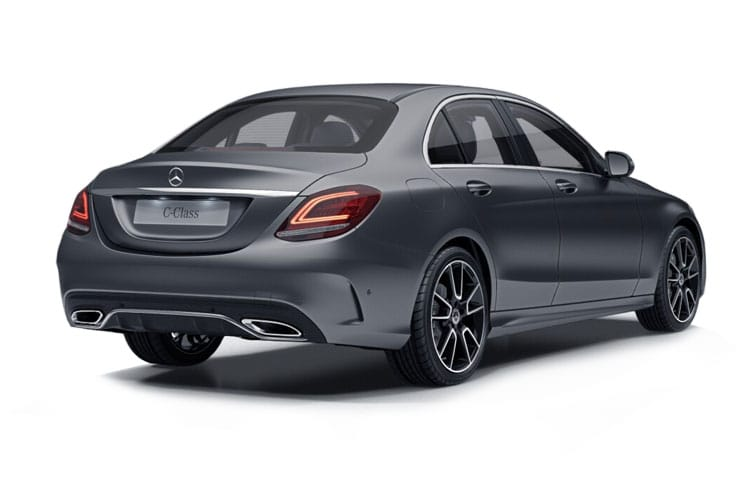 Mercedes-Benz C Class C220 Saloon 2.0 d 194PS AMG Line Edition 4Dr G-Tronic+ [Start Stop] back view