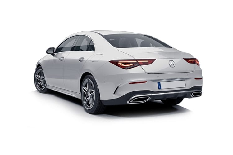 Mercedes-Benz CLA CLA180 Coupe 4Dr 1.3  136PS AMG Line Premium Plus 4Dr 7G-DCT [Start Stop] back view