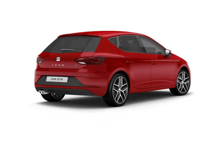 SEAT Leon Hatch 5Dr 1.5 TSI EVO 130PS XCELLENCE 5Dr Manual [Start Stop] back view