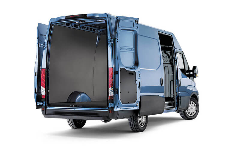 Iveco Daily 35C 4100L DRW 2.3 D HPI 14V DRW 136PS  Van High Roof HiMatic [Start Stop] back view