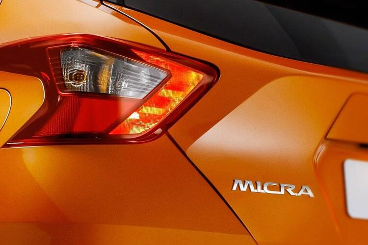 Nissan Micra Hatch 5Dr 1.0 IG-T 92PS Acenta 5Dr XTRON [Start Stop] [Vision] detail view