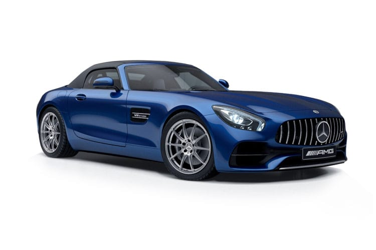 Mercedes-Benz AMG GT AMG GT Roadster 4.0 V8 BiTurbo 530PS Night Edition 2Dr SpdS DCT [Start Stop] front view