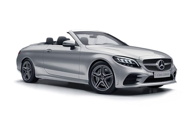 Mercedes-Benz C Class AMG C43 Cabriolet 4MATIC 3.0 V6 390PS Night Edition Premium Plus 2Dr G-Tronic+ [Start Stop] front view