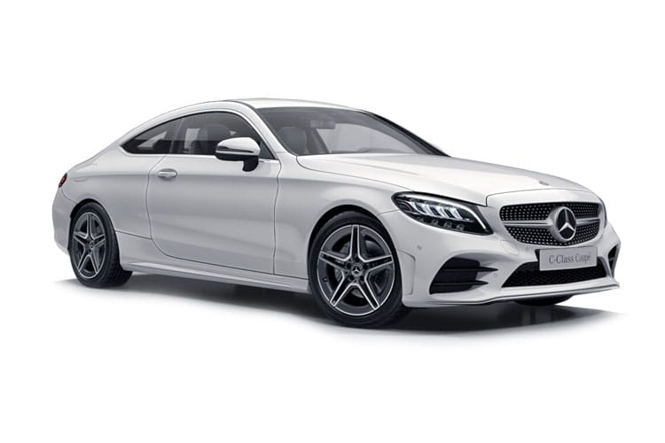 Mercedes-Benz C Class C300 Coupe 2.0  258PS AMG Line 2Dr G-Tronic+ [Start Stop] front view