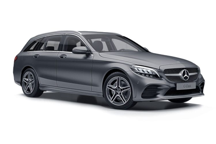Mercedes-Benz C Class AMG C63 Estate 4.0 V8 BiTurbo 510PS S Premium Plus 5Dr SpdS MCT [Start Stop] front view