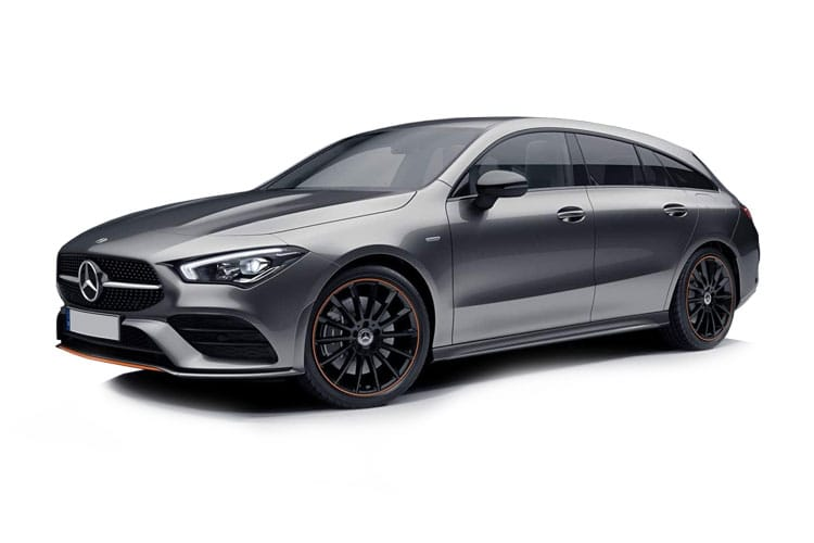 Mercedes-Benz CLA AMG CLA35 ShootingBrake 4MATIC 2.0  306PS Premium 5Dr 7G-DCT [Start Stop] front view