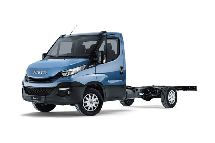 Iveco Daily 35S 4100 2.3 D HPI 16V RWD 156PS Business Chassis Double Cab Manual [Start Stop] front view
