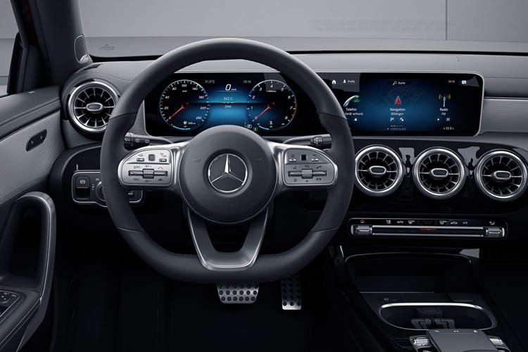 Mercedes-Benz A Class A180 Saloon 4Dr 1.3  136PS AMG Line Premium Plus 4Dr Manual [Start Stop] inside view