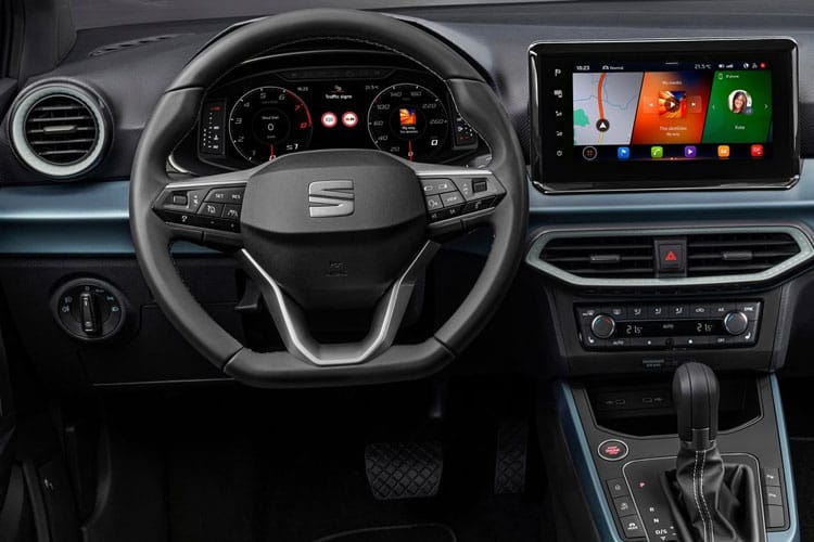 SEAT Arona SUV 1.0 TSI 110PS XCELLENCE Lux 5Dr DSG [Start Stop] inside view