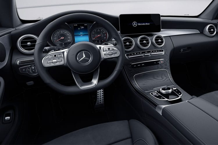 Mercedes-Benz C Class C300 Coupe 2.0  258PS AMG Line 2Dr G-Tronic+ [Start Stop] inside view