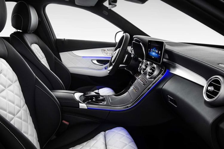Mercedes-Benz C Class AMG C63 Estate 4.0 V8 BiTurbo 510PS S Premium Plus 5Dr SpdS MCT [Start Stop] inside view