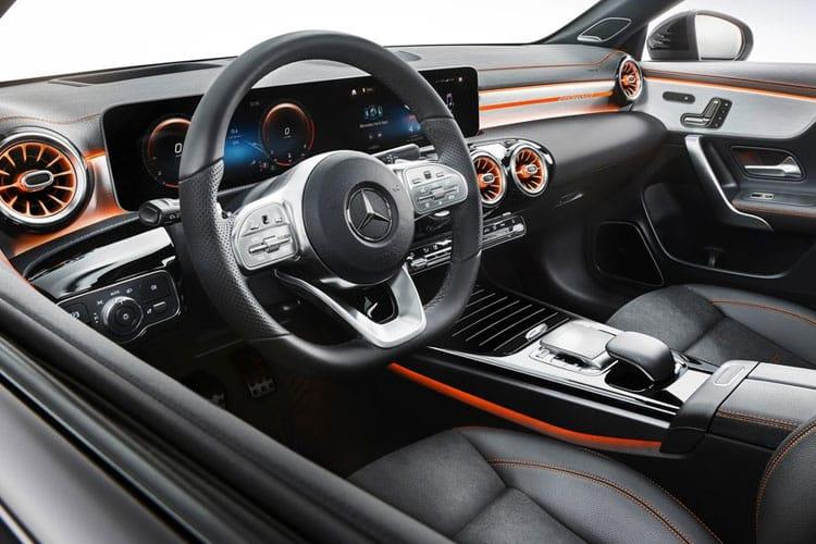 Mercedes-Benz CLA CLA180 Coupe 4Dr 1.3  136PS AMG Line Premium Plus 4Dr 7G-DCT [Start Stop] inside view