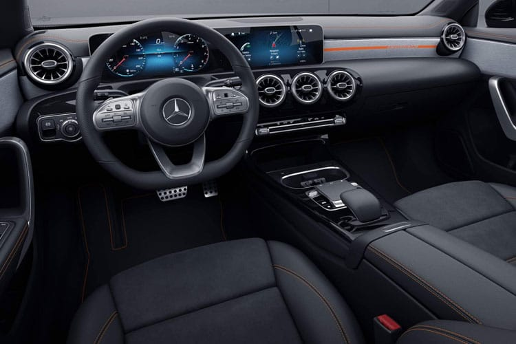 Mercedes-Benz CLA AMG CLA35 ShootingBrake 4MATIC 2.0  306PS Premium 5Dr 7G-DCT [Start Stop] inside view