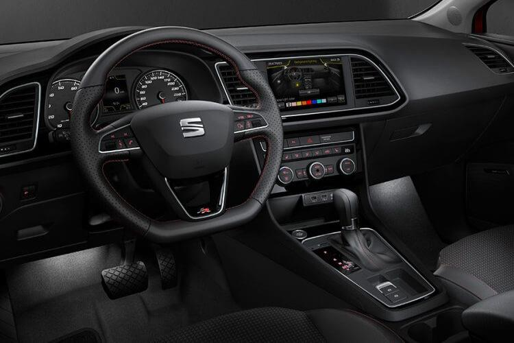 SEAT Leon Hatch 5Dr 2.0 TDI 150PS SE 5Dr DSG [Start Stop] inside view