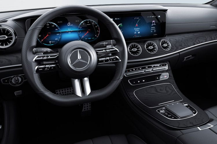 Mercedes-Benz E Class E220 Coupe 2.0 d 194PS AMG Line Night Edition 2Dr G-Tronic+ [Start Stop] [Premium Plus] inside view