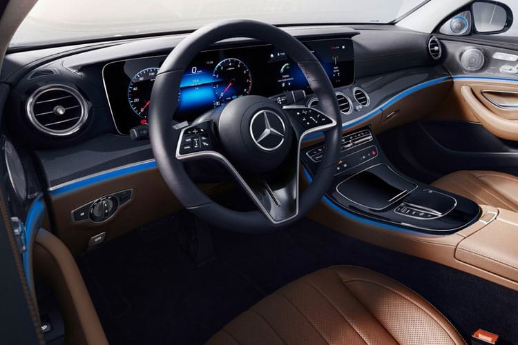 Mercedes-Benz E Class E300e Saloon 2.0 PiH 13.5kWh 320PS AMG Line 4Dr G-Tronic+ [Start Stop] inside view