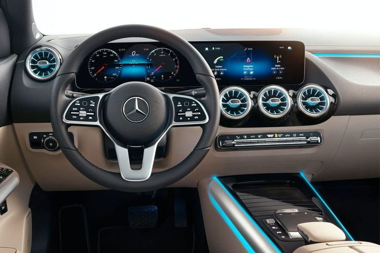 Mercedes-Benz GLA GLA200 SUV 1.3  163PS Sport Executive 5Dr 7G-DCT [Start Stop] inside view