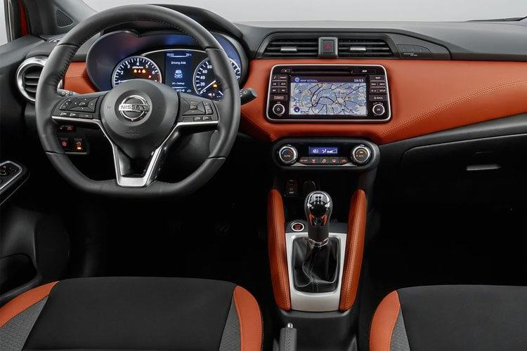 Nissan Micra Hatch 5Dr 1.0 IG-T 92PS Acenta 5Dr XTRON [Start Stop] [Vision] inside view