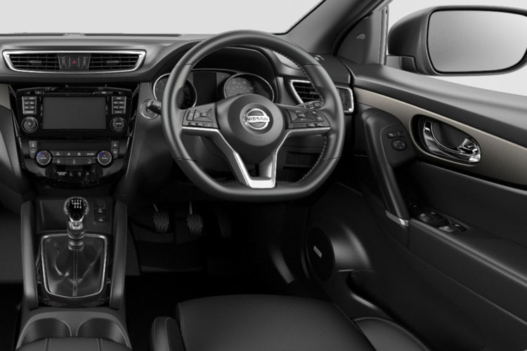 Nissan Qashqai SUV 2wd 1.3 DIG-T 140PS Tekna+ 5Dr Manual [Start Stop] inside view